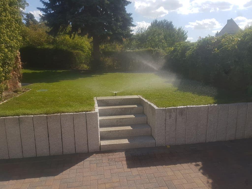 Einbau von Bewässerungsanlagen in Schwielowsee