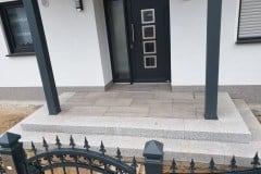 Eingangspodest bauen Beelitz aus Naturstein