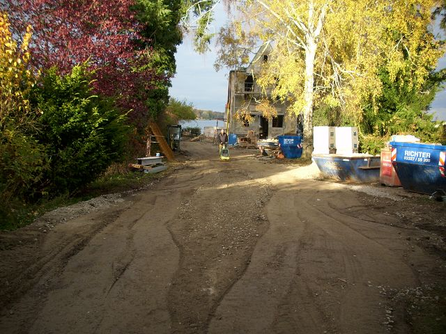 Erdarbeiten Bau Strasse