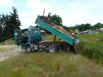 Erdarbeiten Baugrube ausheben