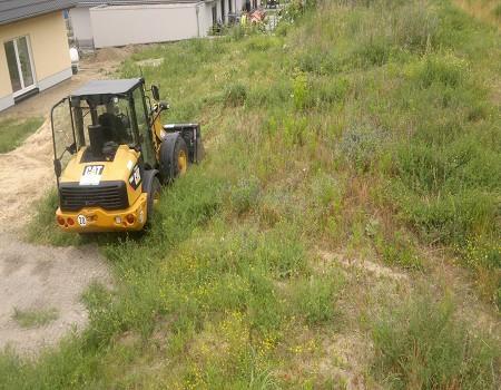 Garten Landschaftsbau Grundstueck begradigen