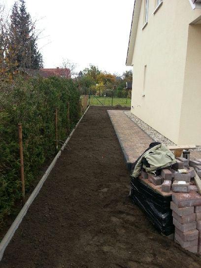 Garten Landschaftsbau Rollrasen verlegen Gartenbau