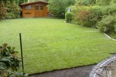 Garten Landschaftsbau Rollrasen verlegen Kleinmachnow