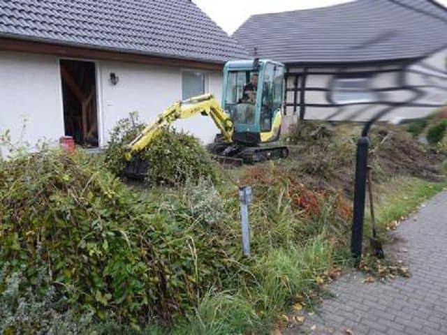 Garten Landschaftsbau Vorgarten neu anlegen