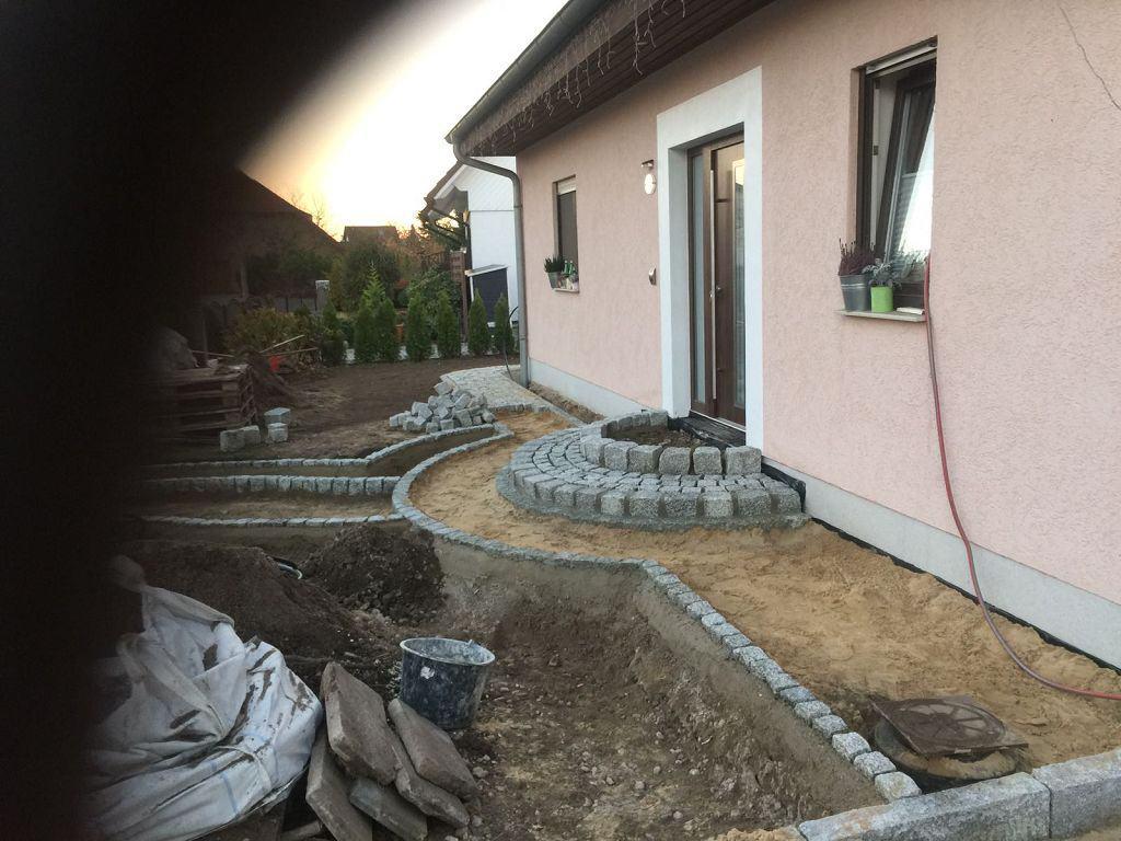 Granitpflaster verlegen Werder Havel Natursteinpflaster