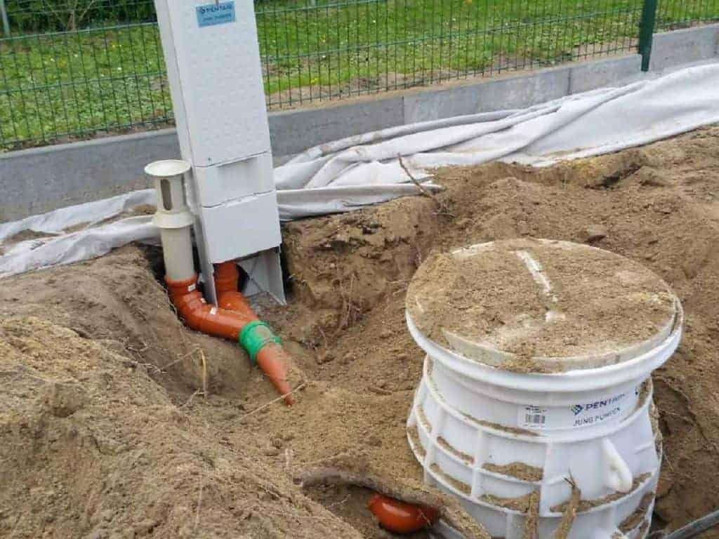 Kabelgraben Leitungsgraben herstellen Werder Havel