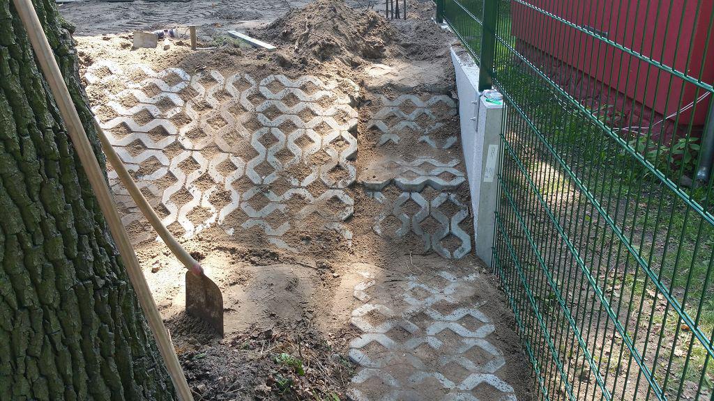 L-Steine setzen Hangbefestigung Falkensee