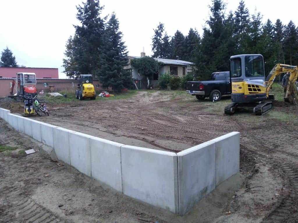 L-Steine setzen in Schwielowsee Böschungssicherung