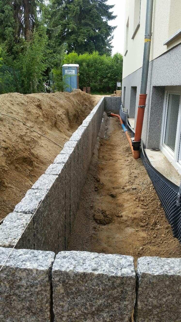 Lichthof bauen aus Granit Werder an der Havel