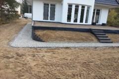 Mauern Palisaden Boeschungssicherung Terrasse l-Steine setzen