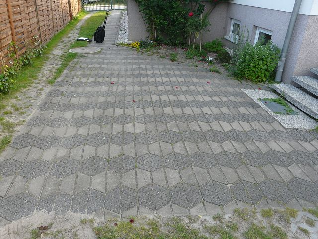 Pflasterarbeiten Betonstein Betonformstein