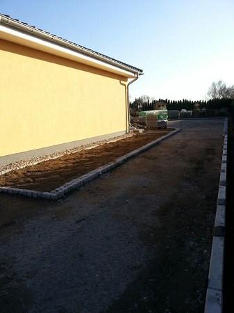 Pflasterarbeiten Betonstein Einfahrt pflastern Schwielowsee