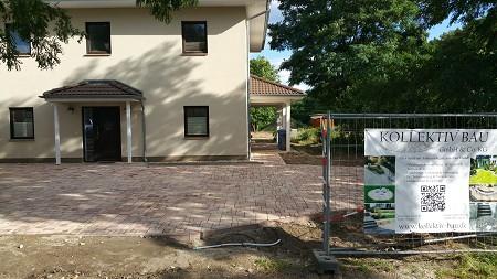 Pflasterarbeiten Betonstein Einfahrt pflastern Werder