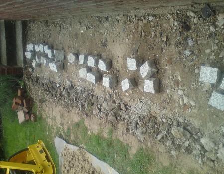 Pflasterarbeiten Betonstein Gehweg pflastern
