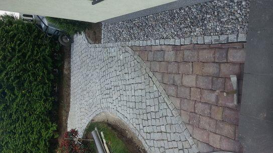Pflasterarbeiten Betonstein Hof pflastern Kleinmachnow
