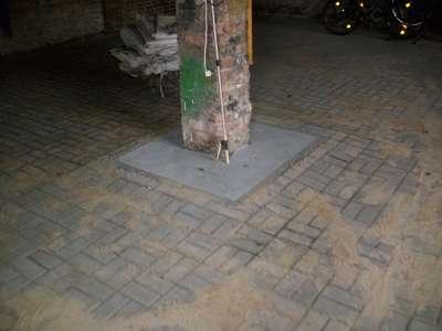 Pflasterarbeiten Betonstein Parkplatz pflastern