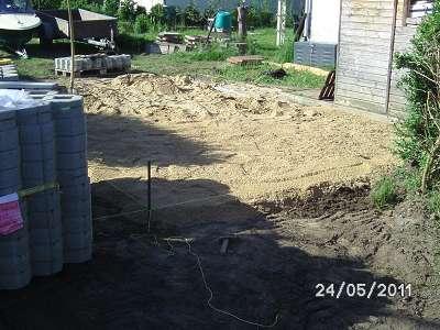 Pflasterarbeiten Betonstein Rasengittersteine verlegen