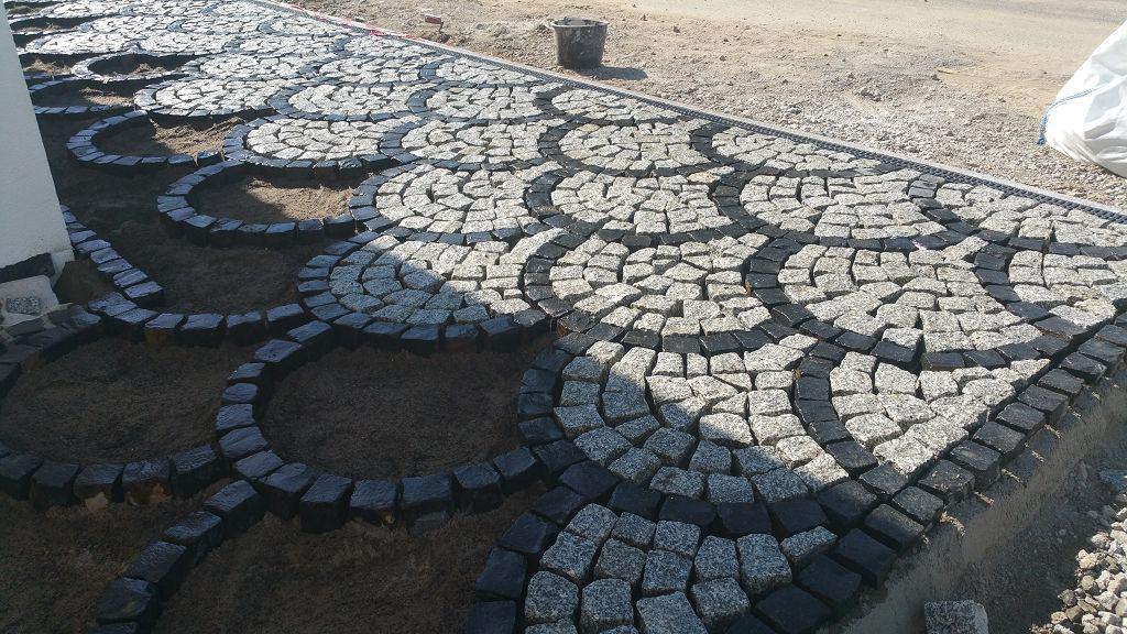 Pflasterarbeiten Granit Schuppenpflaster Berlin Mahlow