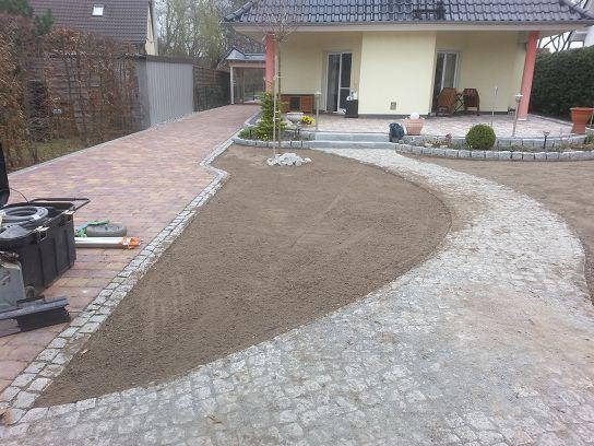 Pflasterarbeiten Naturstein Gehweg pflastern Kleinmachnow