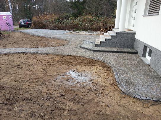 Pflasterarbeiten Naturstein Gehwege in Falkensee