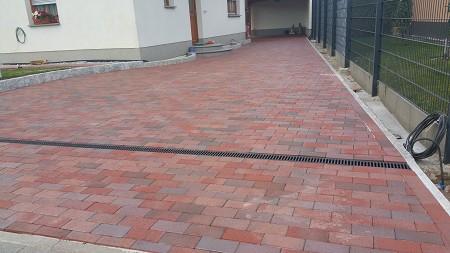 Klinkerpflaster Verlegen einfahrt aus pflasterklinker berlin kladow