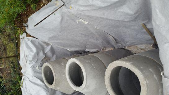 Regenwasser Versickerung 3x Sickerschaechte einbauen