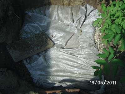 Regenwasser Versickerung Drainage einbauen