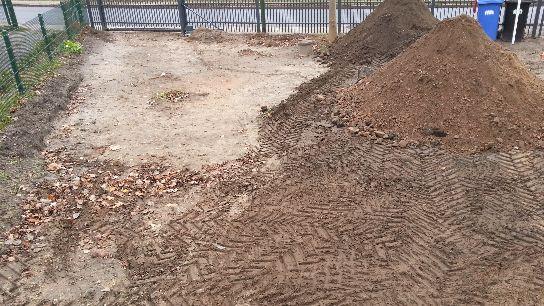 Regenwasser Versickerung Regenwasser Kies Drainage