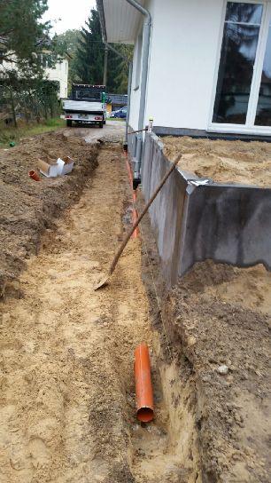 Regenwasser Versickerung Regenwasserschacht einbauen