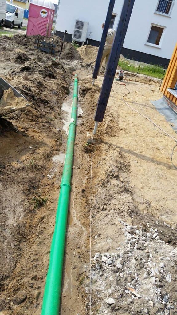 Regenwasserrigole einbauen in Werder an der Havel Sickerkörbe