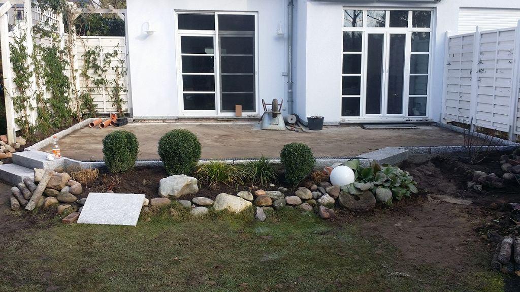Terrasse aus Granit bauen Kleinmachnow Terrassenbau