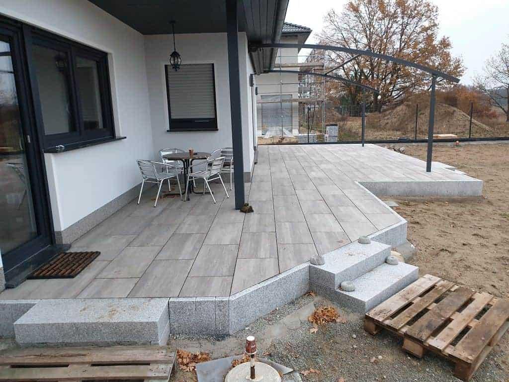 Terrasse bauen Beelitz Terrassenbau - Kollektiv Bau