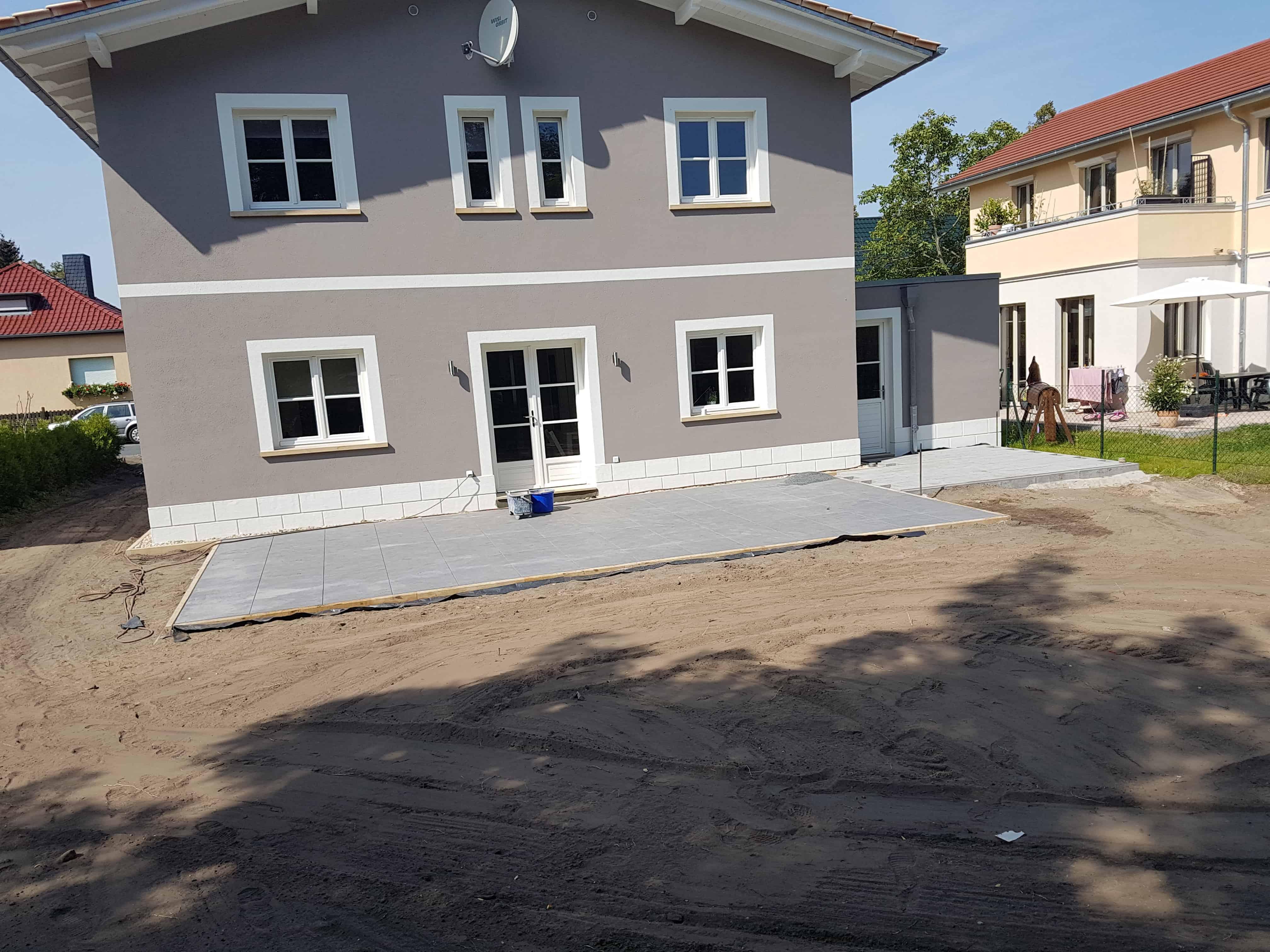 Terrassenbau in Schwielowsee