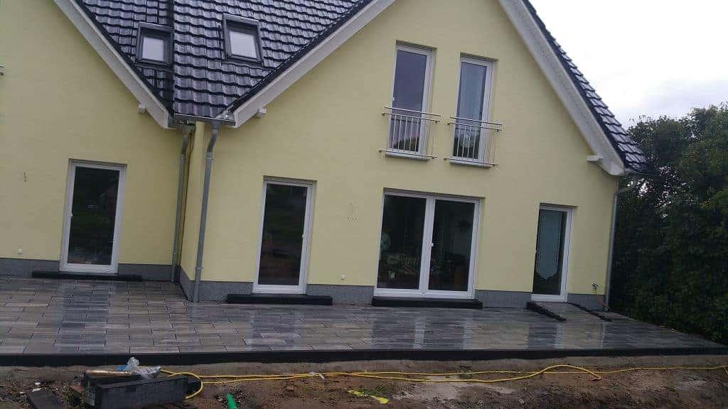 Terrassenbau Potsdam Golm Terrasse bauen