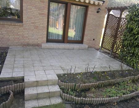 Terrassenbau Terrasse anlegen Fichtenwalde