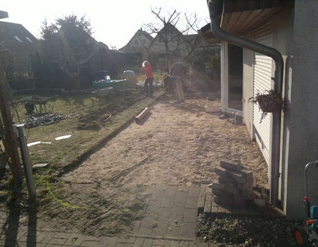 Terrassenbau Kladow