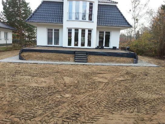 Terrassenbau Wilhelmshorst