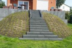 Treppenbau Betonstein u. Naturstein Treppenbau Geltow
