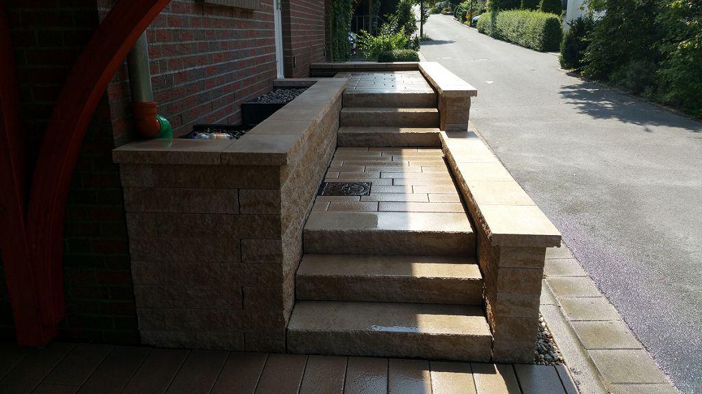Treppenbau u. Podestbau Werder an der Havel Eingangstreppe