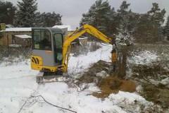 Zaunbau Wildzaun aufbauen