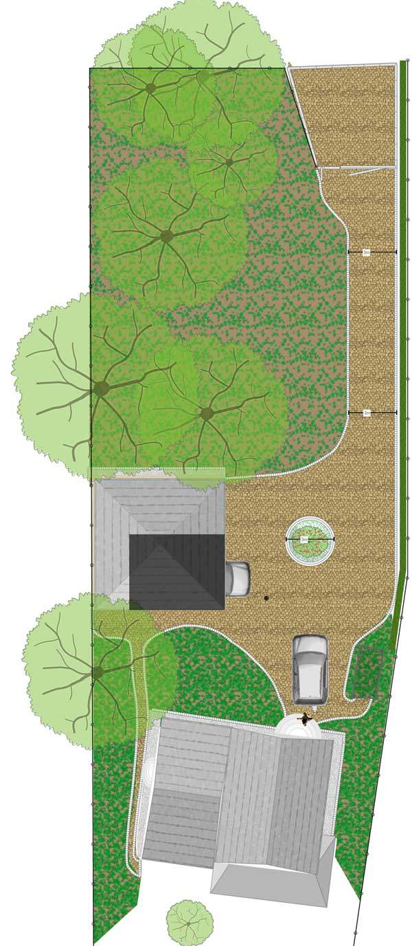 Planung von Pflasterarbeiten aus Naturstein