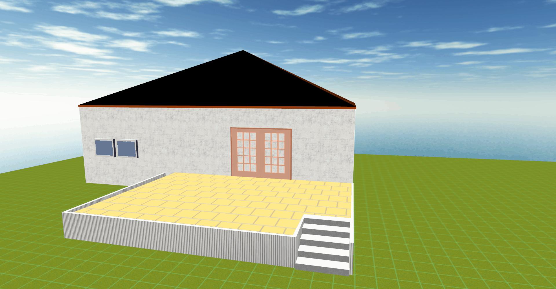 3-D Planung Terrassenbau Fichtenwalde / Beelitz